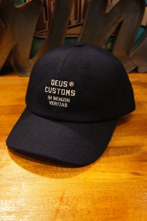 DEUS EX MACHINA MOLESKIN DAD CAP (NAVY)