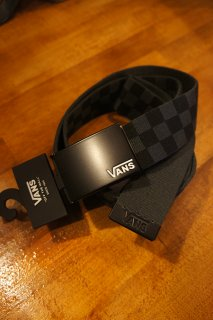 VANS DEPPSTER � WEB BELT (BLACK/CHARCOAL)