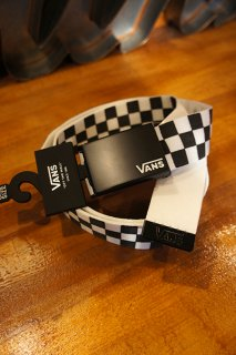 VANS DEPPSTER � WEB BELT (BLACK/WHITE)