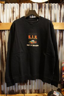 AFENDS Kik CREW NECK (BLACK)