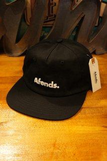 AFENDS Home Grown SNAPBACK CAP (BLACK)