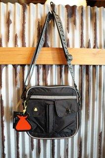 BUMBAG HI VIZ Utility Shoulder Bag (Black)