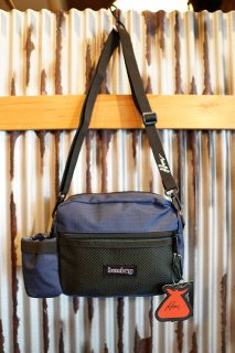BUMBAG LOUIE LOPEZ Compact XL with Bottle Holder Shoulder Bag (Forest Green & Navy)