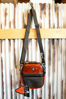 BUMBAG KEVIN BRADLEY Compact Shoulder Bag (Red & Black)