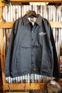 ALVA SKATES TONY ALVA COACH JACKET (BLACK)