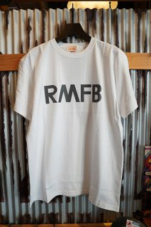 Rocky Mountain Featherbed Co. RMFB REFLECTOR ARMY TEE (WHITE)