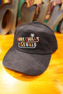 Barney Cools More chills 5 panel cap (Navy cord)