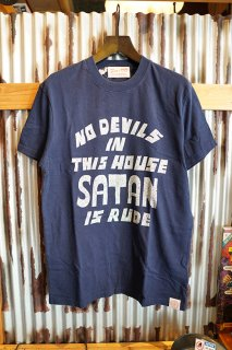 DEUS EX MACHINA BAD MANNERS TEE (NAVY)