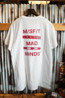 MISFIT SHAPES Ohomi Song Tee (Washed White)