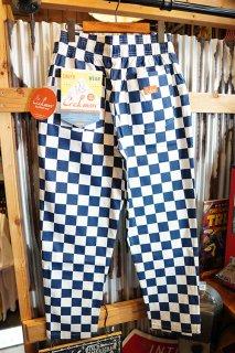 Cookman Chef Pants (「Checker」 Navy)