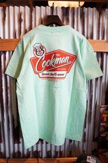 Cookman T-shirts 「Signboard」 (LIGHT GREEN)
