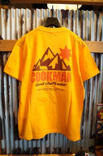 Cookman T-shirts 「California bear」 (YELLOW)