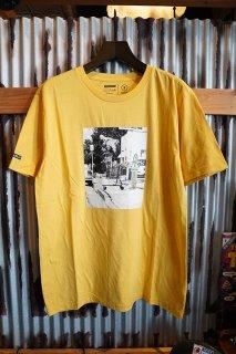 BRIXTON Cart S/S Tee (Yellow)