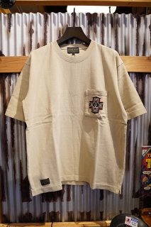 PENDLETON Embroidery Pocket Tee (Beige)