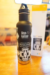 PENDLETON × klean kanteen 20oz Bottle (Black)