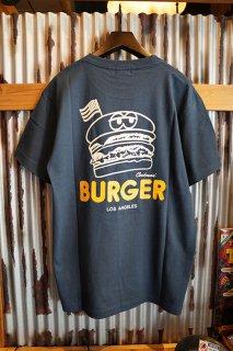 Cookman T-shirts 「BURGER」 (NAVY)