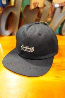 "CONVERSE SKATEBOARDING ""Wear & Goods Collection"" EMBROIDERY LOGO 6PANEL CAP (NAVY)"
