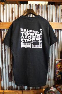 BALENO TOWN CLOTHING STORE ORIGINAL STORE LOGO TEE (BLACK)