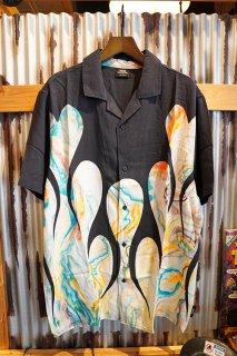 GLOBE Dead Kooks Flame Heart Shirt (Resin)