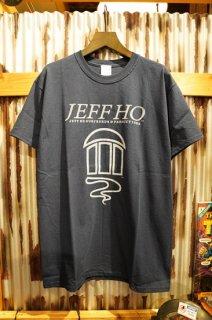 JEFF HO ZEPHYR LOGO S/S TEE (NAVY)
