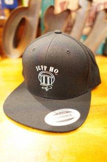 JEFF HO ZEPHYR LOGO SNAPBACK CAP (BLACK)
