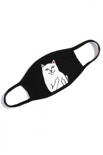 RIPNDIP Lord Nermal Face Mask (Black)