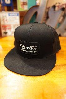 BRIXTON Grade Mesh Cap (Black/Black)