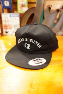 CYCLE ZOMBIES BAR CODE Premium Unconstructed Twill 5 Panel (Black)