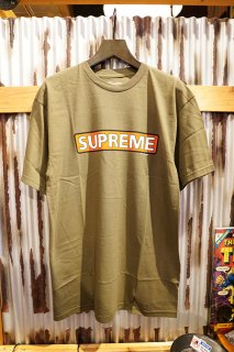 POWELL PERALTA SUPREME S/S T-SHIRT (M.GREEN)