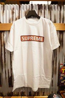 POWELL PERALTA SUPREME S/S T-SHIRT (WHITE)
