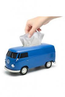 VW T1 BUS TISSUE BOX (BLUE)