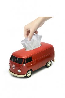 VW T1 BUS TISSUE BOX (RED)