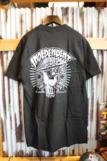 INDEPENDENT SHREDDED S/S T-SHIRT (BLACK)