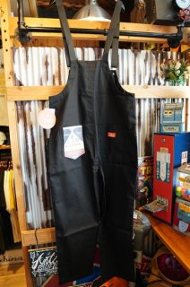 Cookman Fisherman's Bib Overall (「Black」)