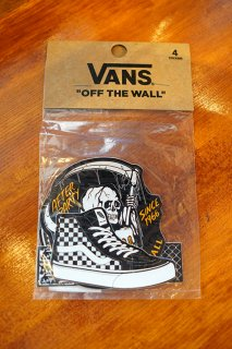 VANS AFTER PARTY STICKER PACK (BLACK)