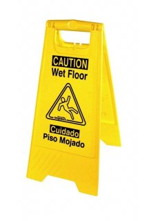 GENUINE JOE ''CAUTION WET FLOOR