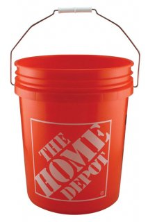 HOME DEPOT【ホームデポ】5ガロンバケット マルチバケツ MADE IN USA Homer Bucket
