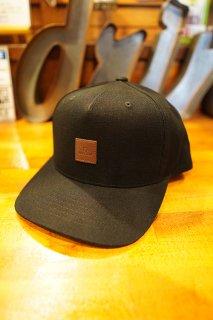 BRIXTON ALPHA C MP SNAPBACK CAP (BLACK)