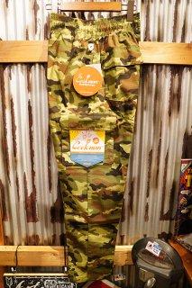 Cookman Chef Cargo Pants (「Ripstop」 Woodland Camo Green)