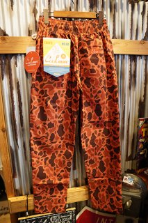 Cookman Chef Pants (「Ripstop」 Duck Hunter Camo Red)
