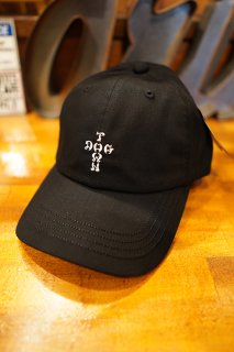 DOGTOWN Twill 6P CAP (BLACK/WHITE)