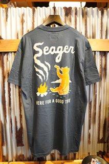 SEAGER SMOKEY TEE (NAVY)