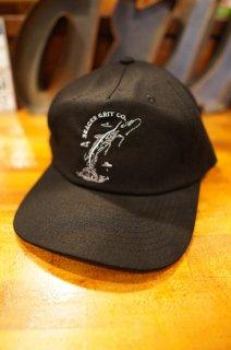 SEAGER FISHIN' CLUB HEMP SNAPBACK CAP (BLACK)