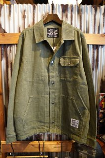 MISFIT SHAPES CONFIDANT JACKET (WASHED GREEN)