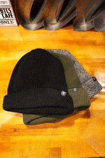 ROARK REVIVAL TURKS 3-PACK BEANIES (BLACK/ARMY/GRAY)