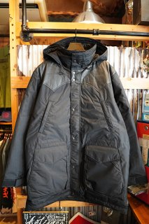 Rocky Mountain Featherbed Co. Down Mountain Parka (ALL BLACK)