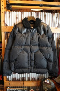 Rocky Mountain Featherbed Co. CHRISTY DOWN JACKET (ALL BLACK)