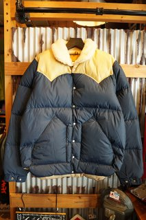Rocky Mountain Featherbed Co. CHRISTY DOWN JACKET (NAVY)