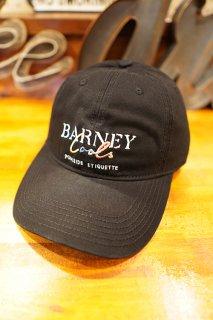 Barney Cools Colour Script Curve brim cap (Black)
