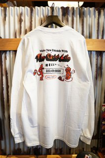 THE QUIET LIFE Devil Long Sleeve Tee (WHITE)